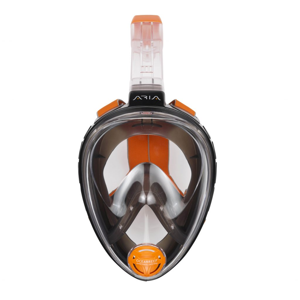 ARIA Full Face Snorkeling Mask (black)